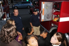 Tamaqua Salvation Army Youth Group Visits South Ward Fire Company, Tamaqua, 10-8-2015 (45)