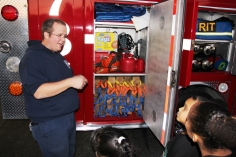 Tamaqua Salvation Army Youth Group Visits South Ward Fire Company, Tamaqua, 10-8-2015 (55)