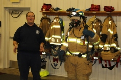 Tamaqua Salvation Army Youth Group Visits South Ward Fire Company, Tamaqua, 10-8-2015 (56)