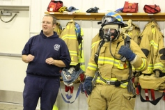Tamaqua Salvation Army Youth Group Visits South Ward Fire Company, Tamaqua, 10-8-2015 (58)