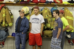 Tamaqua Salvation Army Youth Group Visits South Ward Fire Company, Tamaqua, 10-8-2015 (61)