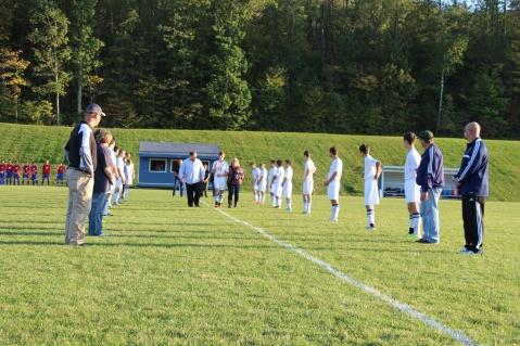 Tamaqua Soccer Senior Recognition, Soccer Field, Tamaqua Area High School, Tamaqua, 10-7-2015 (1)