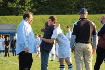 Tamaqua Soccer Senior Recognition, Soccer Field, Tamaqua Area High School, Tamaqua, 10-7-2015 (11)