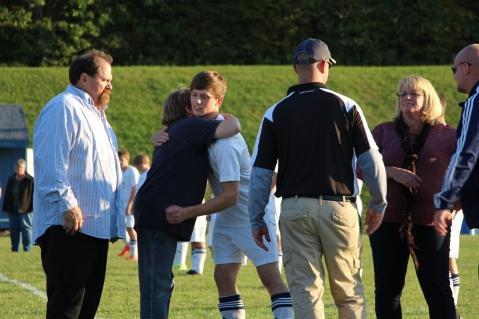 Tamaqua Soccer Senior Recognition, Soccer Field, Tamaqua Area High School, Tamaqua, 10-7-2015 (12)
