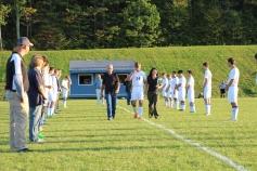Tamaqua Soccer Senior Recognition, Soccer Field, Tamaqua Area High School, Tamaqua, 10-7-2015 (15)