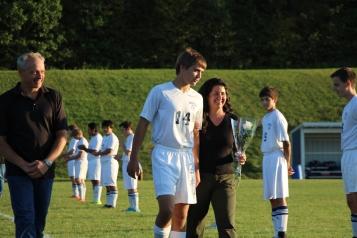 Tamaqua Soccer Senior Recognition, Soccer Field, Tamaqua Area High School, Tamaqua, 10-7-2015 (22)