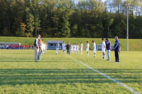 Tamaqua Soccer Senior Recognition, Soccer Field, Tamaqua Area High School, Tamaqua, 10-7-2015 (23)