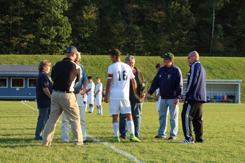 Tamaqua Soccer Senior Recognition, Soccer Field, Tamaqua Area High School, Tamaqua, 10-7-2015 (31)