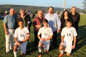 Tamaqua Soccer Senior Recognition, Soccer Field, Tamaqua Area High School, Tamaqua, 10-7-2015 (39)