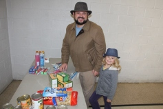 Tamaqua Troop, Pack, 777, Collecting, Sorting, Donations, Salvation Army, Tamaqua, 11-14-2015 (20)