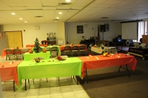 Thanksgiving and Christmas Party, Old and Bolder Group, Salvation Army, Tamaqua, 11-18-2015 (1)
