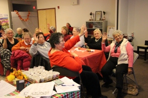 Thanksgiving and Christmas Party, Old and Bolder Group, Salvation Army, Tamaqua, 11-18-2015 (113)