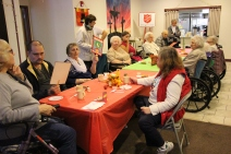 Thanksgiving and Christmas Party, Old and Bolder Group, Salvation Army, Tamaqua, 11-18-2015 (14)