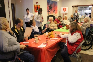 Thanksgiving and Christmas Party, Old and Bolder Group, Salvation Army, Tamaqua, 11-18-2015 (15)