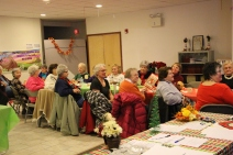 Thanksgiving and Christmas Party, Old and Bolder Group, Salvation Army, Tamaqua, 11-18-2015 (17)