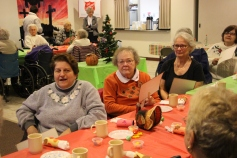 Thanksgiving and Christmas Party, Old and Bolder Group, Salvation Army, Tamaqua, 11-18-2015 (24)