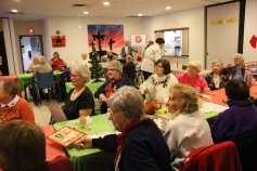 Thanksgiving and Christmas Party, Old and Bolder Group, Salvation Army, Tamaqua, 11-18-2015 (25)