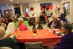 Thanksgiving and Christmas Party, Old and Bolder Group, Salvation Army, Tamaqua, 11-18-2015 (27)