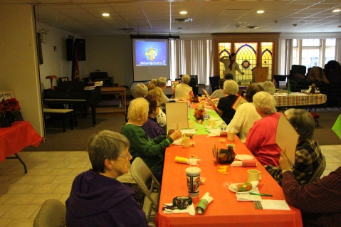 Thanksgiving and Christmas Party, Old and Bolder Group, Salvation Army, Tamaqua, 11-18-2015 (32)