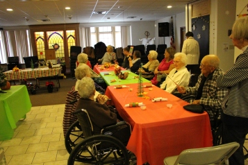 Thanksgiving and Christmas Party, Old and Bolder Group, Salvation Army, Tamaqua, 11-18-2015 (37)