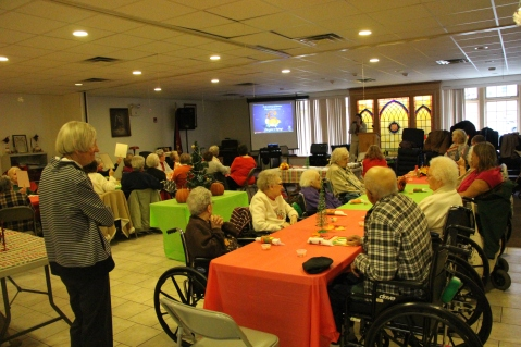 Thanksgiving and Christmas Party, Old and Bolder Group, Salvation Army, Tamaqua, 11-18-2015 (44)