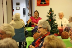 Thanksgiving and Christmas Party, Old and Bolder Group, Salvation Army, Tamaqua, 11-18-2015 (56)
