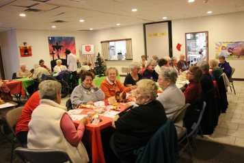 Thanksgiving and Christmas Party, Old and Bolder Group, Salvation Army, Tamaqua, 11-18-2015 (66)