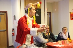 Thanksgiving and Christmas Party, Old and Bolder Group, Salvation Army, Tamaqua, 11-18-2015 (68)