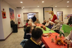 Thanksgiving and Christmas Party, Old and Bolder Group, Salvation Army, Tamaqua, 11-18-2015 (74)