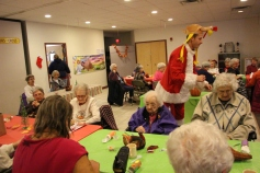 Thanksgiving and Christmas Party, Old and Bolder Group, Salvation Army, Tamaqua, 11-18-2015 (76)