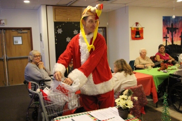 Thanksgiving and Christmas Party, Old and Bolder Group, Salvation Army, Tamaqua, 11-18-2015 (89)