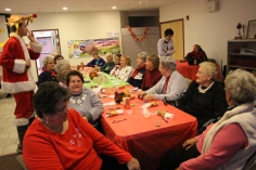 Thanksgiving and Christmas Party, Old and Bolder Group, Salvation Army, Tamaqua, 11-18-2015 (95)