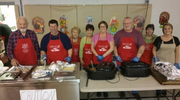 Thanksgiving Day Meal, Deliveries, Tamaqua Salvation Army, Tamaqua, 11-26-2015 (2)