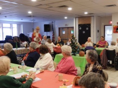 Thanksgiving XMas Party, Old and Bolder Group, Salvation Army, Tamaqua (10)