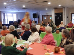 Thanksgiving XMas Party, Old and Bolder Group, Salvation Army, Tamaqua (11)