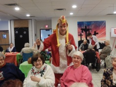 Thanksgiving XMas Party, Old and Bolder Group, Salvation Army, Tamaqua (12)