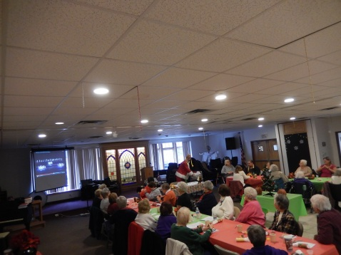 Thanksgiving XMas Party, Old and Bolder Group, Salvation Army, Tamaqua (13)