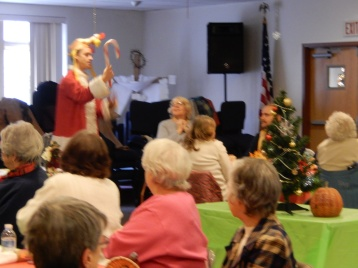 Thanksgiving XMas Party, Old and Bolder Group, Salvation Army, Tamaqua (15)
