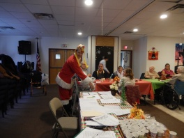 Thanksgiving XMas Party, Old and Bolder Group, Salvation Army, Tamaqua (18)