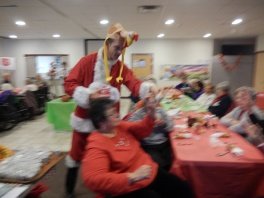 Thanksgiving XMas Party, Old and Bolder Group, Salvation Army, Tamaqua (19)