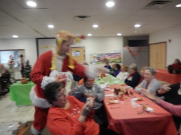 Thanksgiving XMas Party, Old and Bolder Group, Salvation Army, Tamaqua (20)