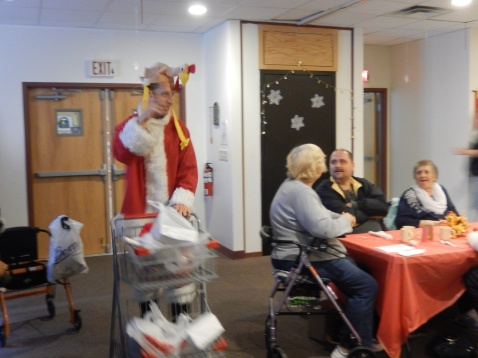Thanksgiving XMas Party, Old and Bolder Group, Salvation Army, Tamaqua (5)