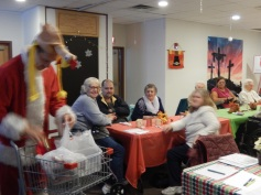 Thanksgiving XMas Party, Old and Bolder Group, Salvation Army, Tamaqua (6)
