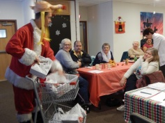 Thanksgiving XMas Party, Old and Bolder Group, Salvation Army, Tamaqua (7)