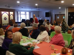 Thanksgiving XMas Party, Old and Bolder Group, Salvation Army, Tamaqua (9)