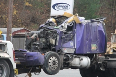 Tractor Trailer Overturns, US209, SR93, Nesquehoning, 11-5-2015 (101)