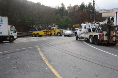 Tractor Trailer Overturns, US209, SR93, Nesquehoning, 11-5-2015 (113)