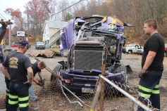 Tractor Trailer Overturns, US209, SR93, Nesquehoning, 11-5-2015 (58)