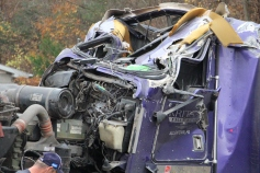 Tractor Trailer Overturns, US209, SR93, Nesquehoning, 11-5-2015 (68)