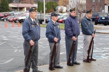 Veterans Day Program, Flag Pole, Tamaqua Area High School, Tamaqua, 11-11-2015 (22)
